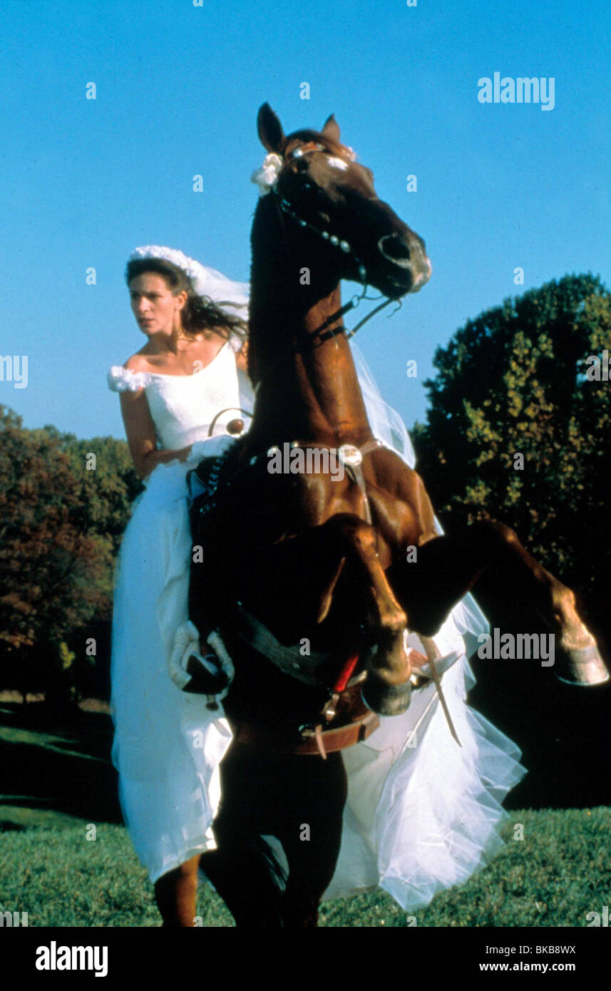 RUNAWAY sposa (1999) Julia Roberts RUBR 031 Immagini Stock