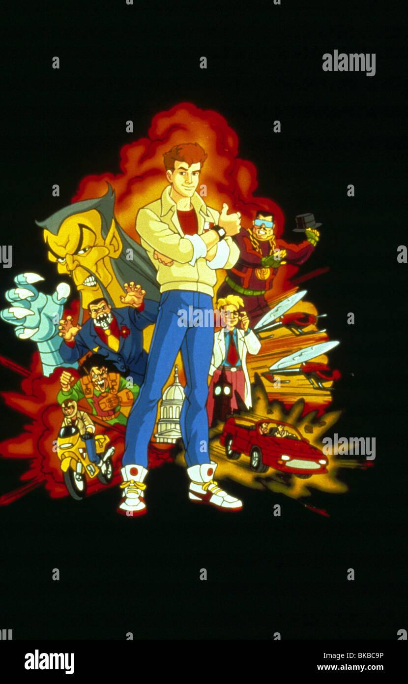 JAMES BOND JR (TV) animata Immagini Stock