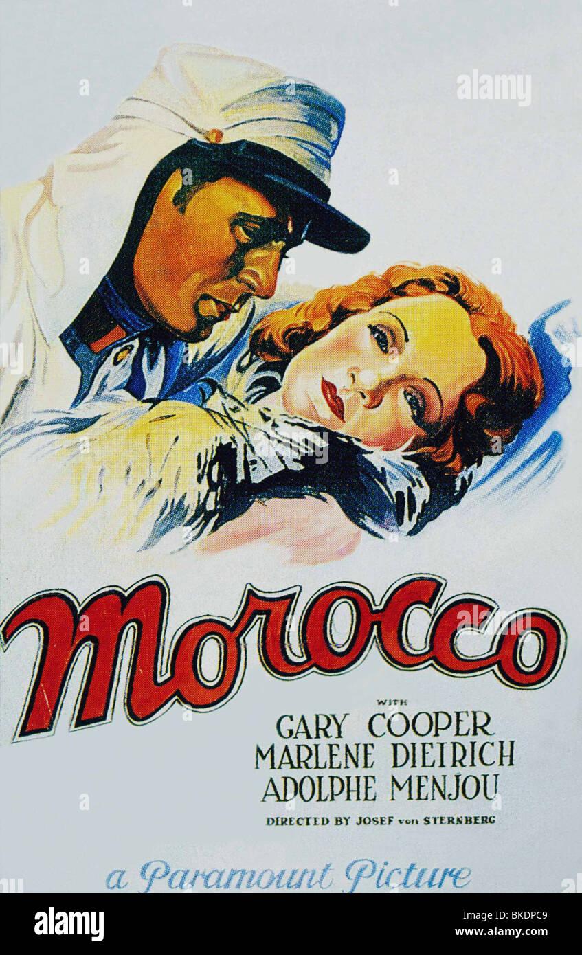 Il Marocco -1930 POSTER Immagini Stock