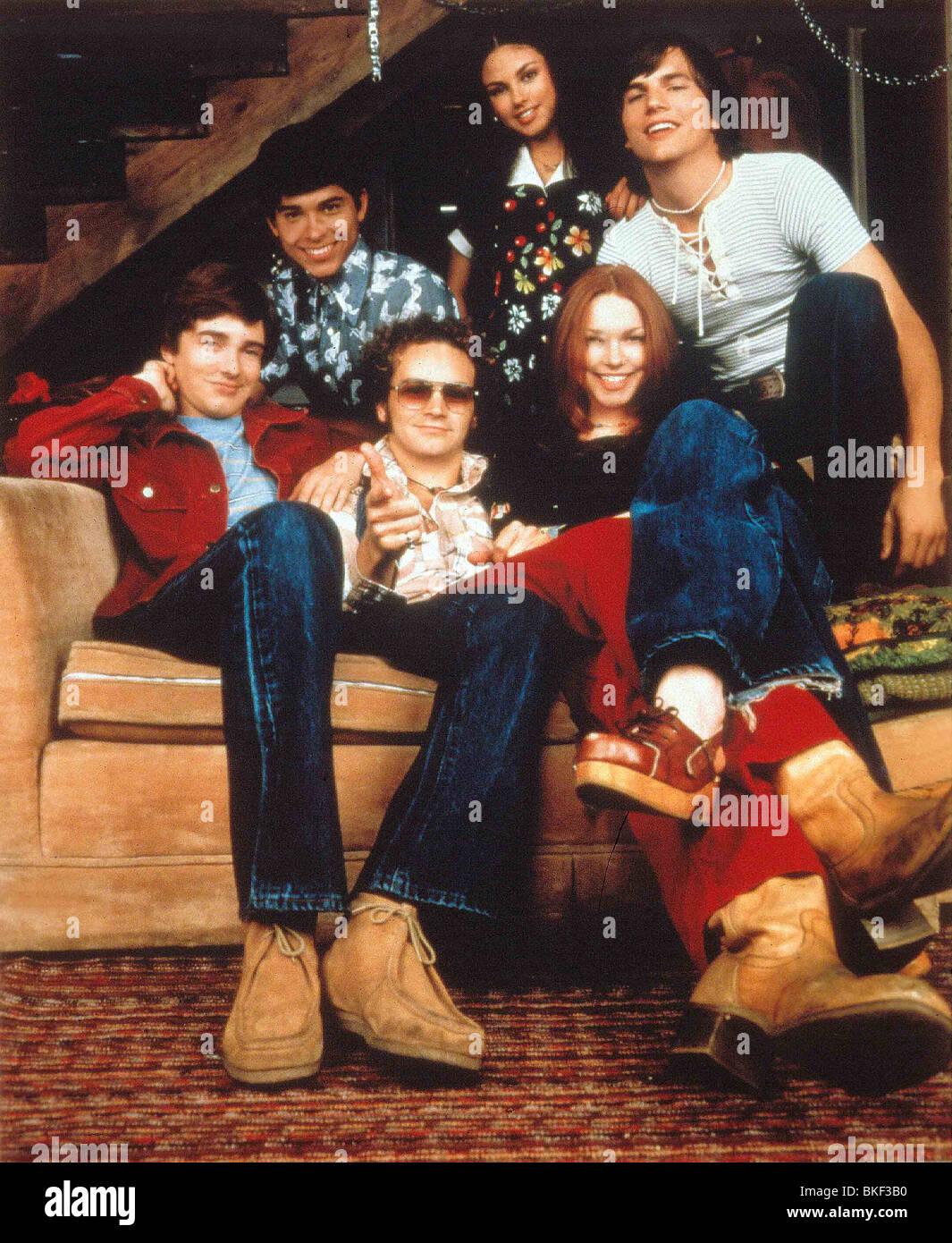 Che 70'S SHOW (TV - 1998) Topher Grace, WILMER VALDERAMA, DANNY MASTERSON, Mila Kunis, LAURA PREPON, Ashton Immagini Stock