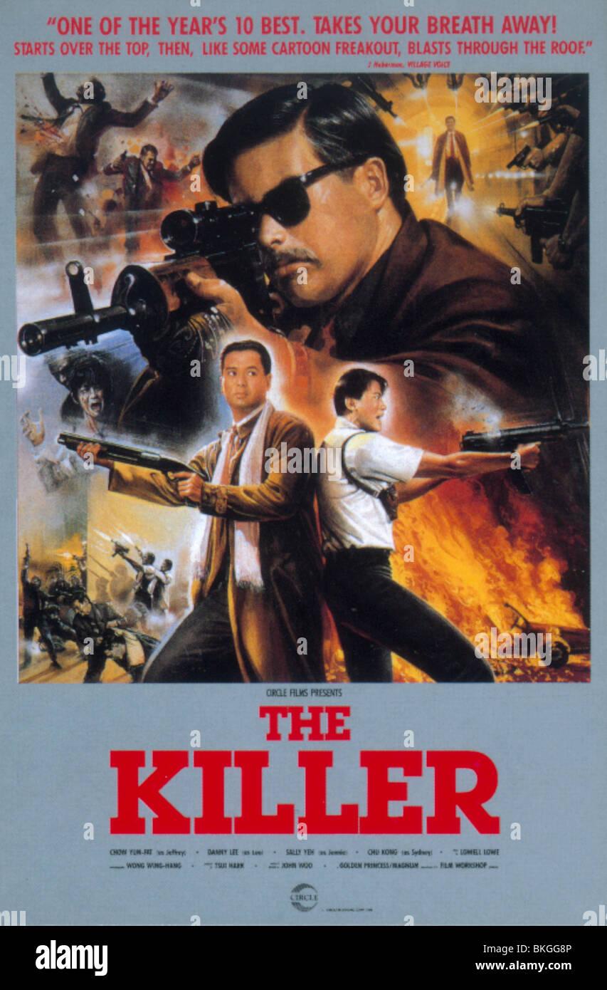 Il killer -1989 POSTER Immagini Stock