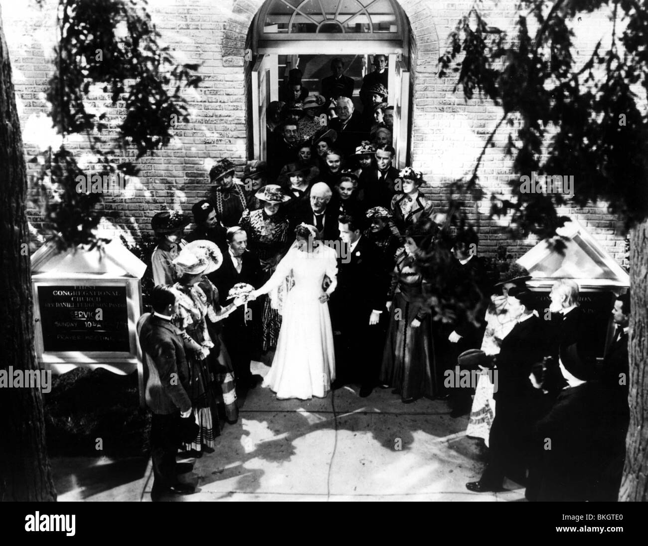 NOSTRA CITTÀ-1940 Immagini Stock