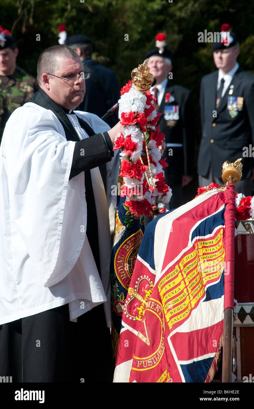 Esercito britannico Padre Immagini Stock