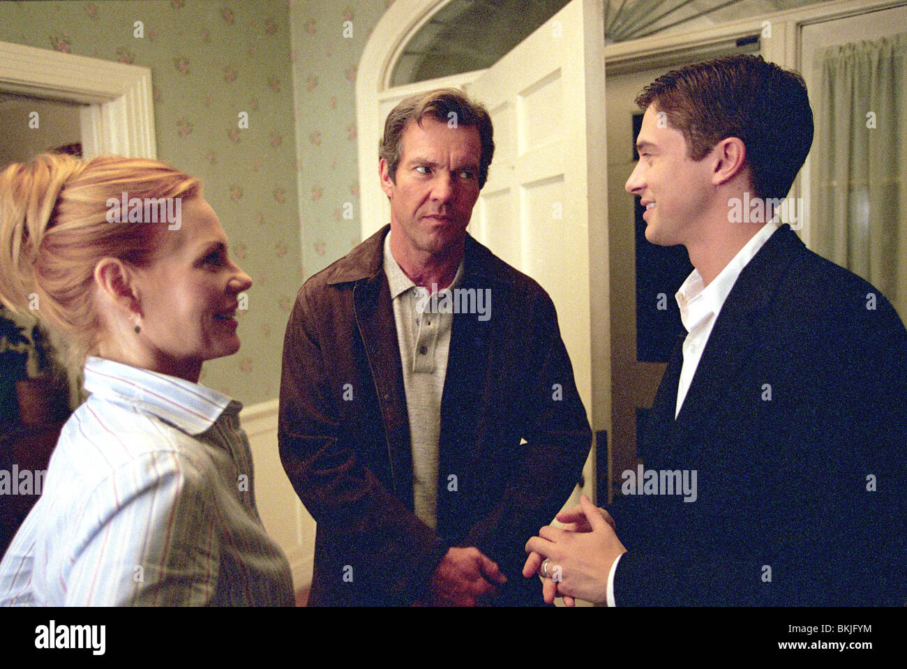 IN BUONA compagnia (2004) MARG HELGENBERGER, Dennis Quaid, Topher Grace INGO 001 - AR Immagini Stock