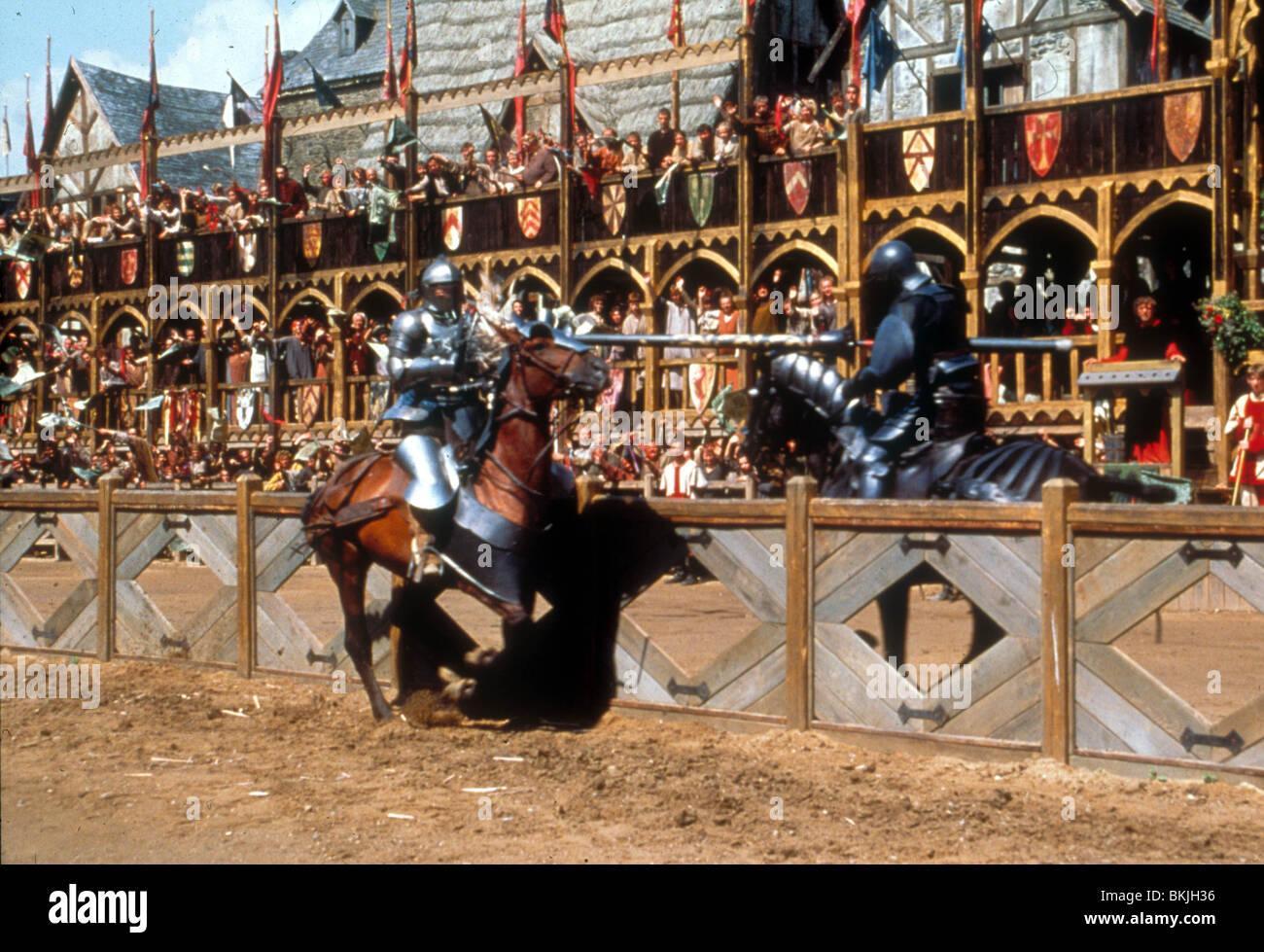 Un cavaliere del racconto -2001 Immagini Stock