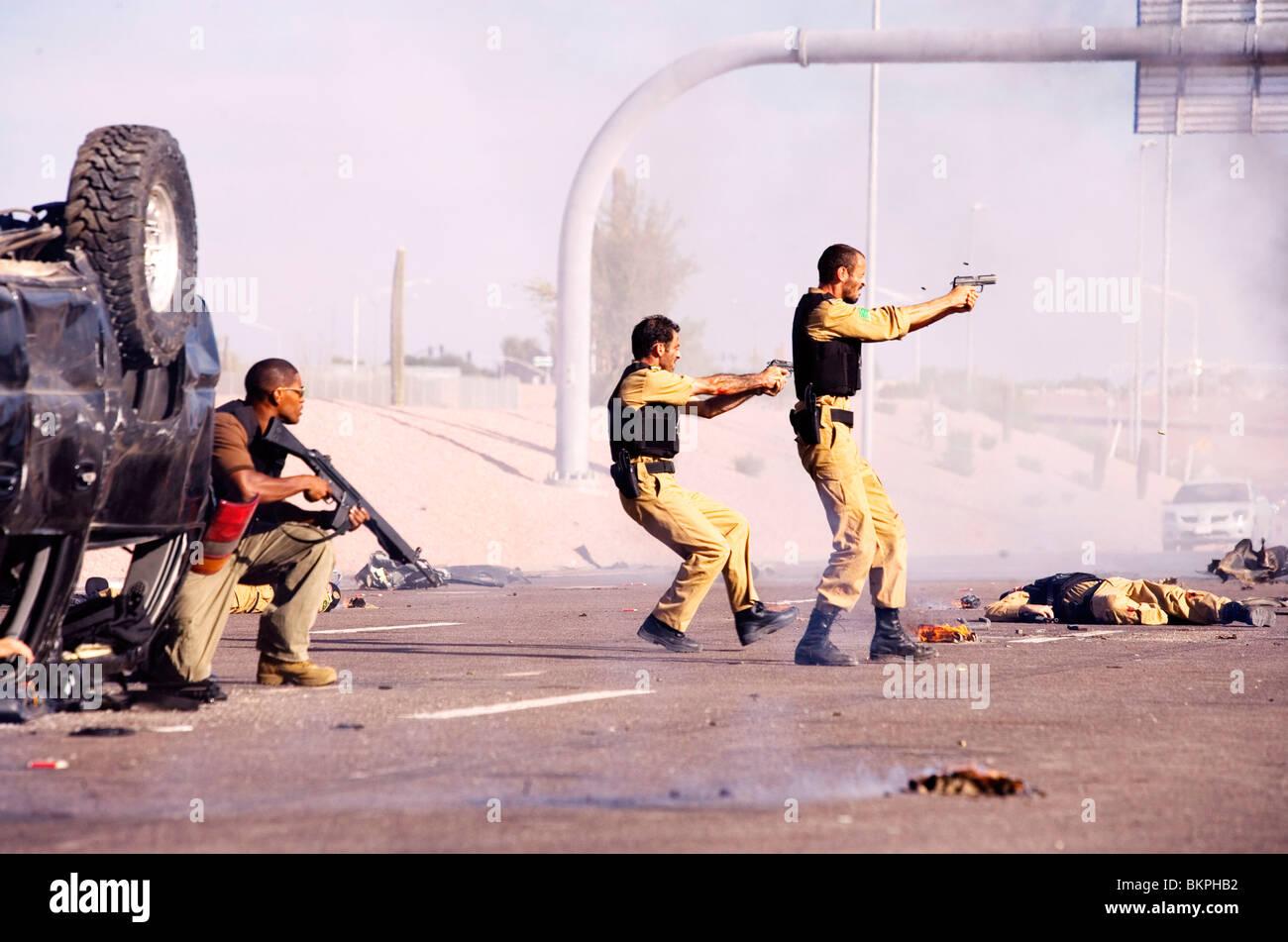 Il Regno (2007) Jamie Foxx, ASHRAF BARHOM, Ali Suliman PETER BERG (DIR) TKIN 017 Immagini Stock