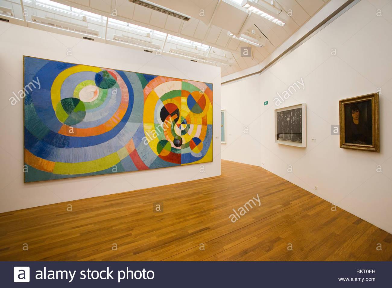 Museo d'arte,,Kunsthaus di Zurigo, Svizzera Immagini Stock