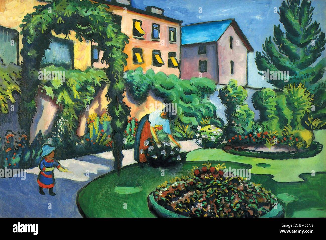 Immagine del giardino Immagini Stock