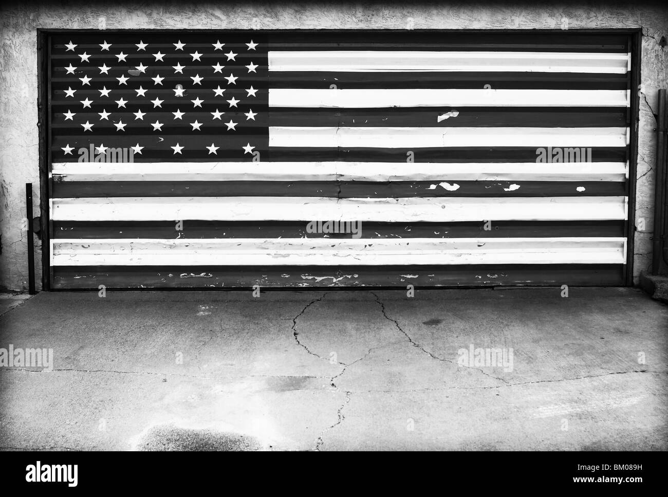 Patriot immagini patriot fotos stock alamy - Porta del garage ...
