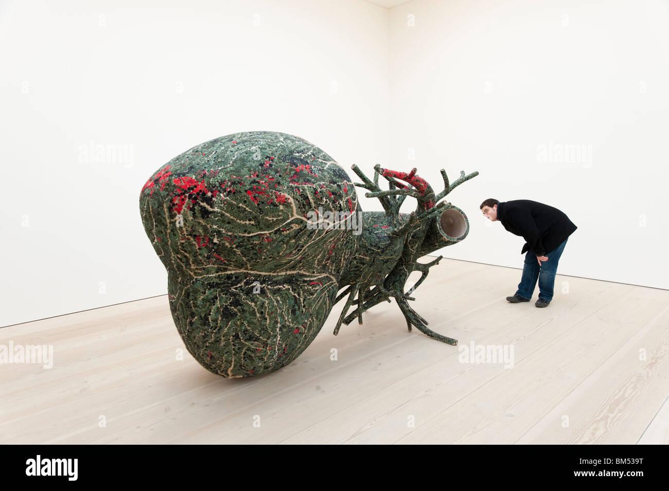 L'arte contemporanea presso la Saatchi Gallery di Londra, Inghilterra, Regno Unito Immagini Stock