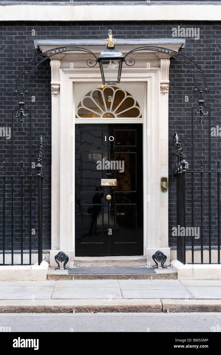 10 Downing Street, Londra, Regno Unito Immagini Stock