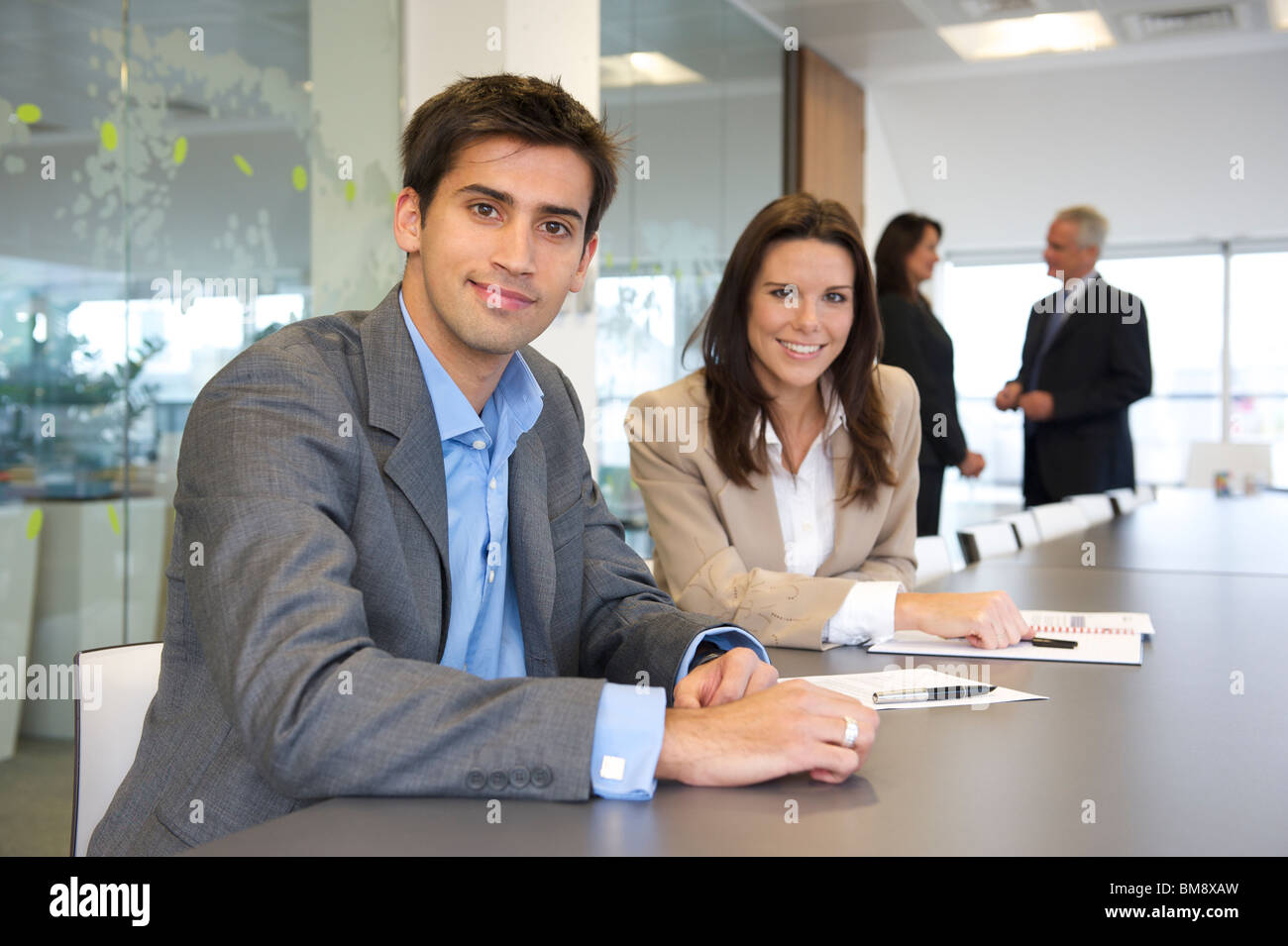 Giovani asiatici business executive Immagini Stock