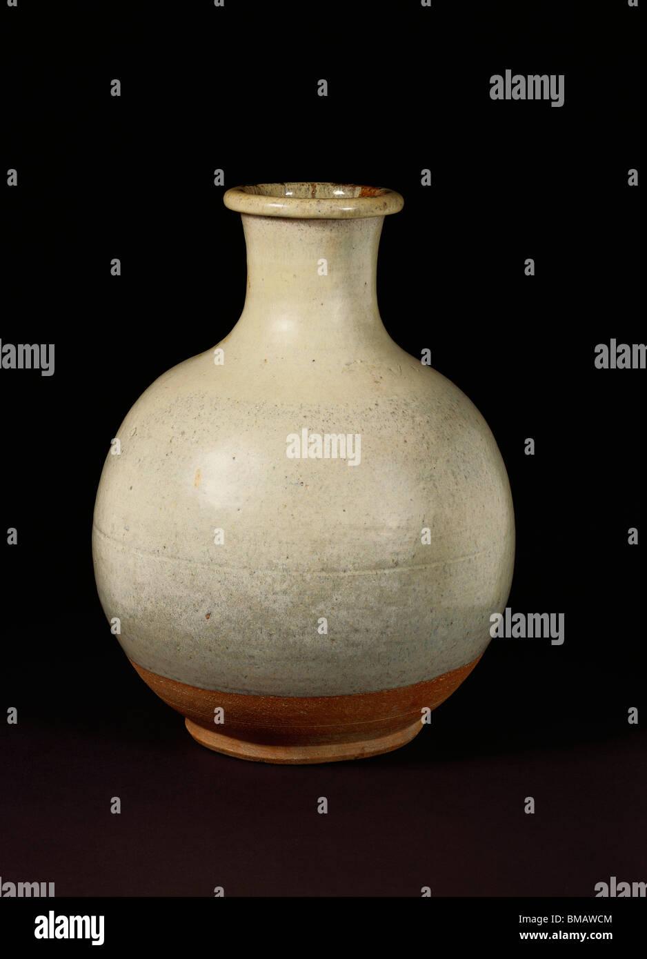 Vaso. Giappone, secolo XIX Immagini Stock
