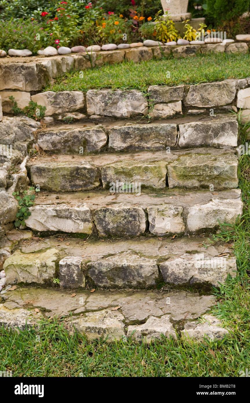 Scale di pietra in Libano Medio Oriente Immagini Stock