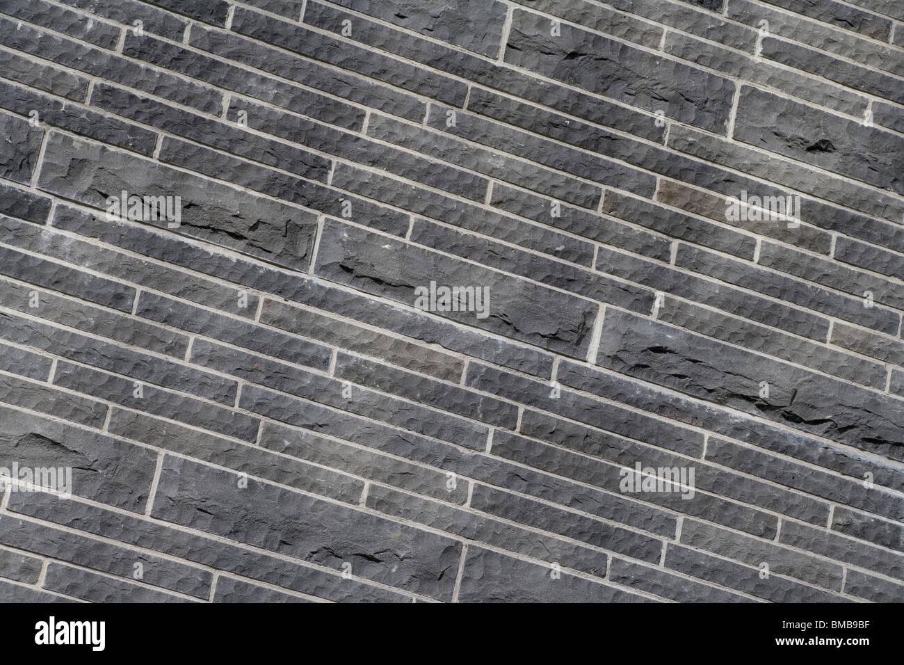 Muro di pietra close up per lo sfondo Immagini Stock