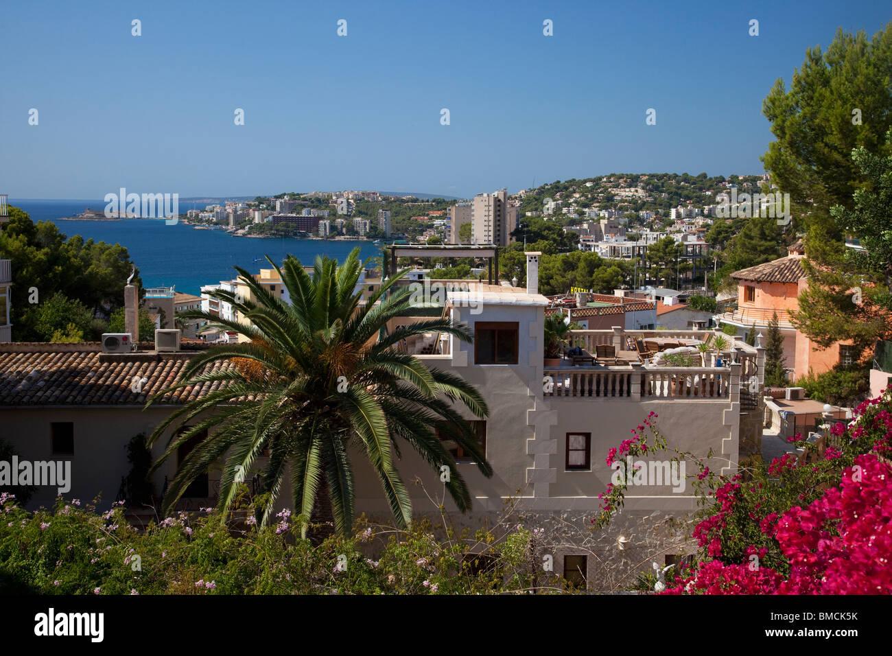 Cala Major Maiorca Mallorca Spagna Europa UE Immagini Stock