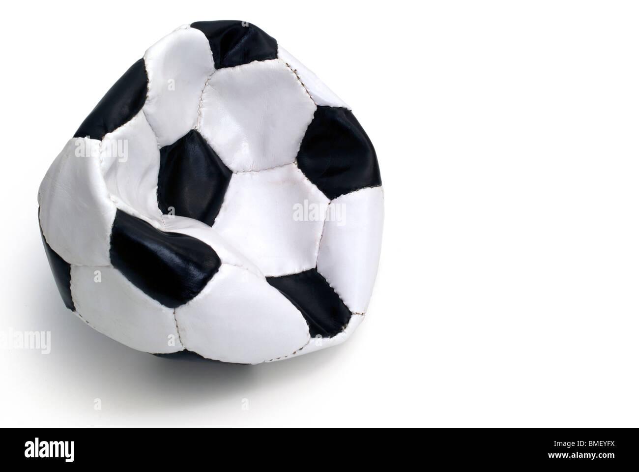 Il calcio l'aria è fuori Immagini Stock