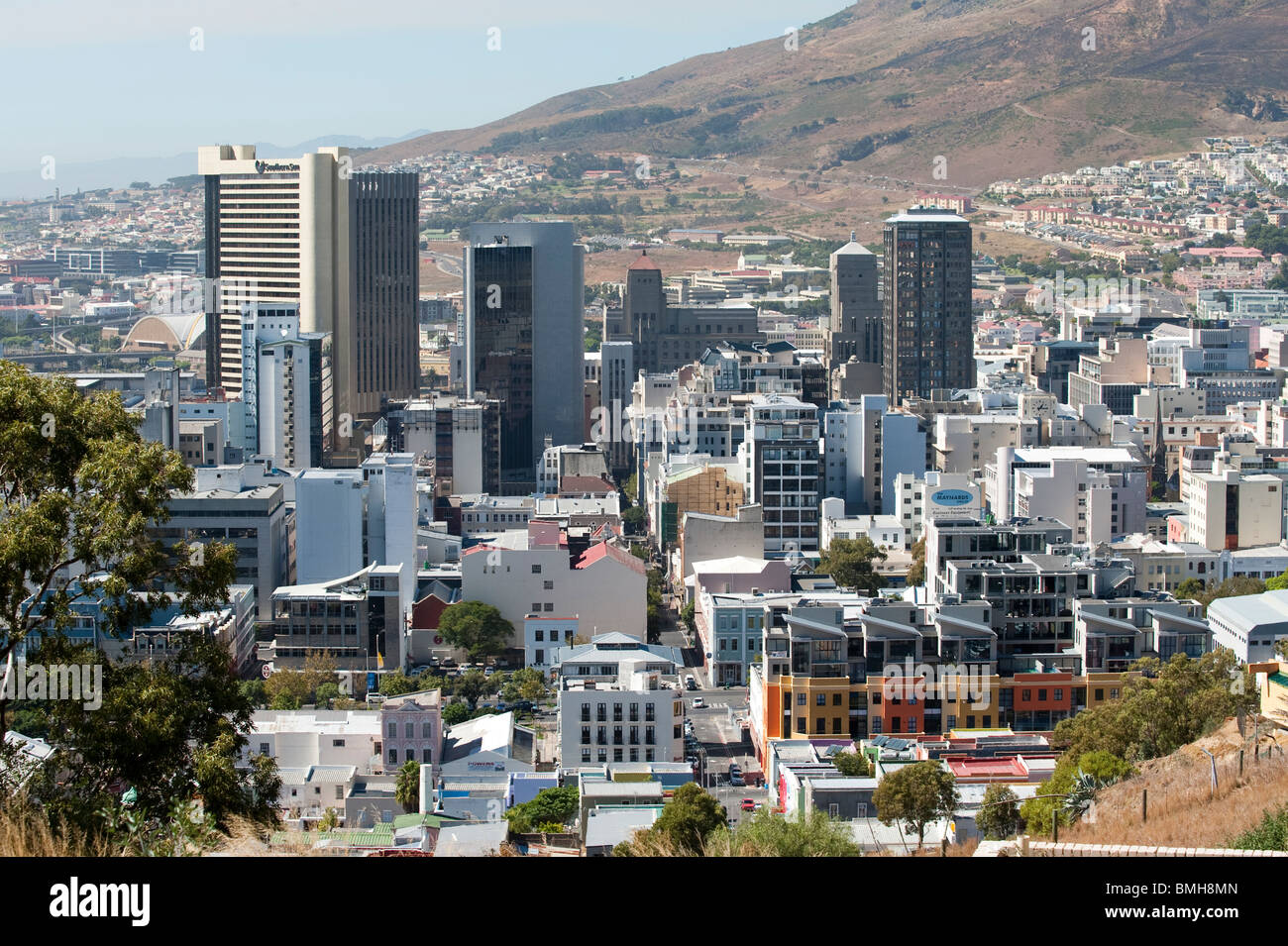 Centro di Città del Capo Western Cape Sudafrica Immagini Stock