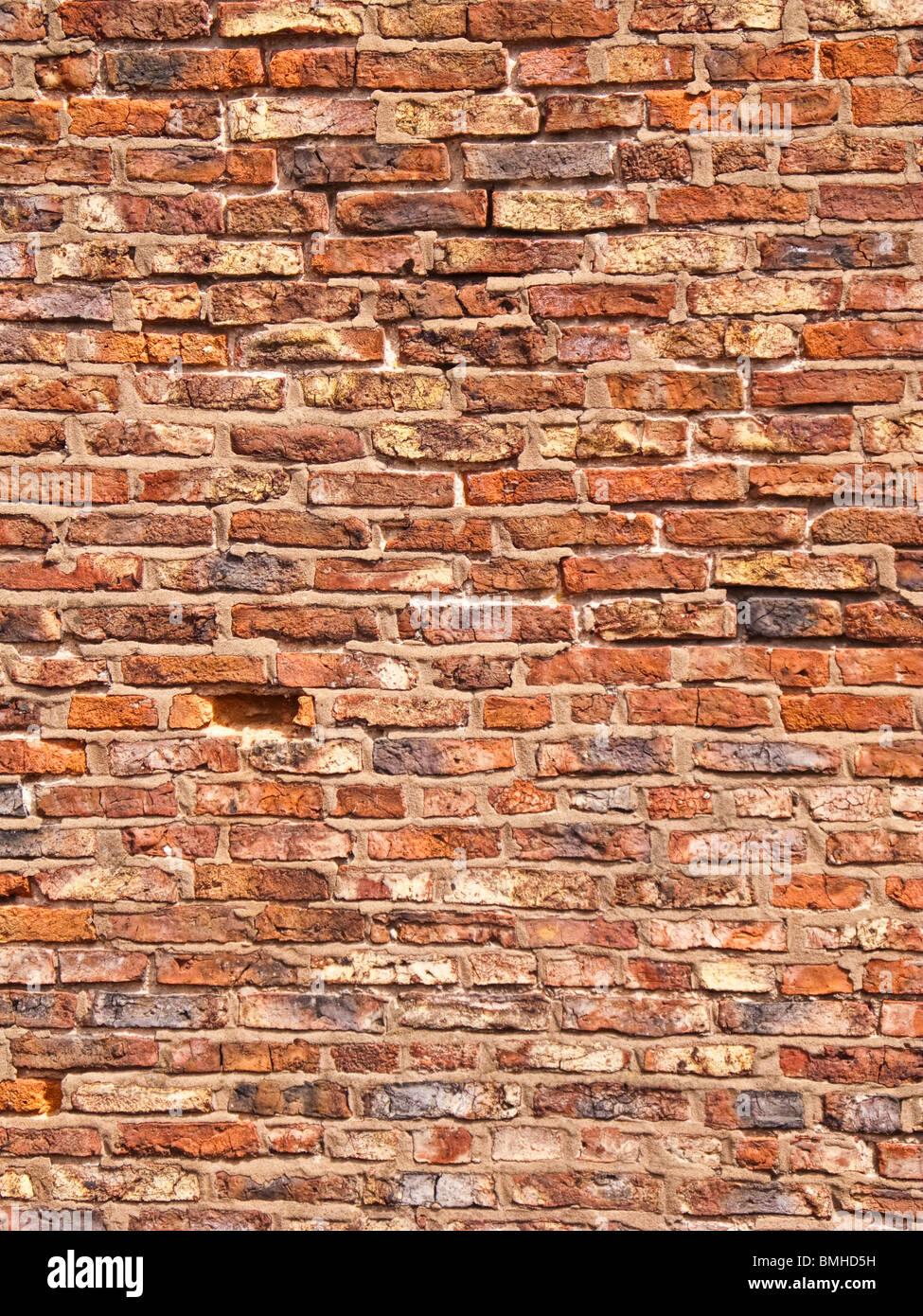 Muro di mattoni - texture Immagini Stock