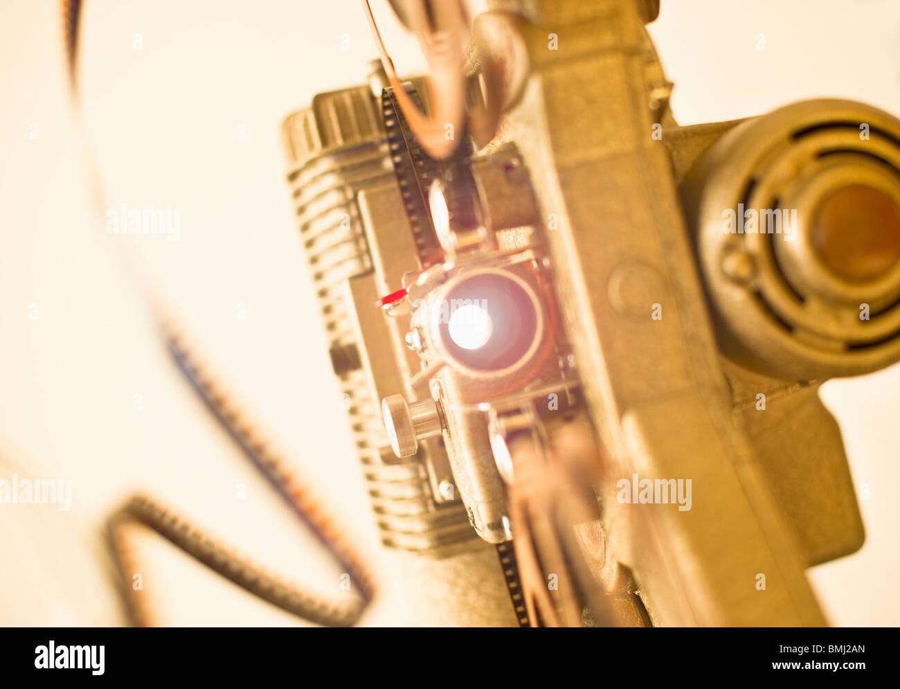 Antico proiettore video Immagini Stock