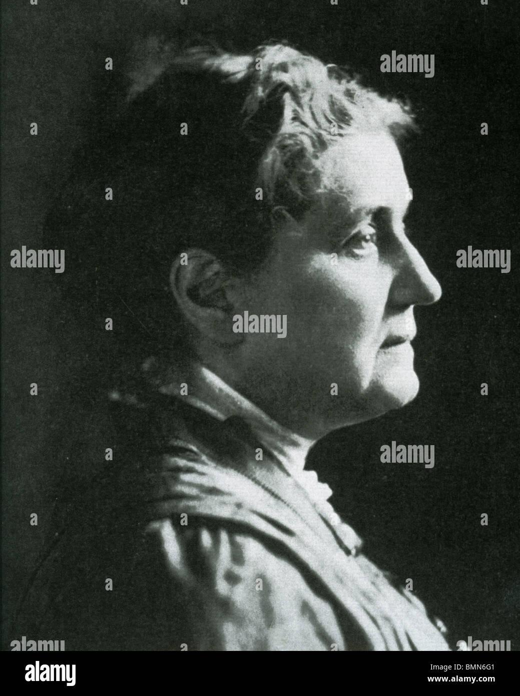 JANE ADDAMS (1860-1935) fondatore della US Settlement House il movimento e la seconda donna ad essere insignito Immagini Stock