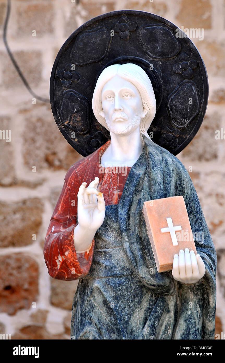 Israele, Galilea occidentale, acro, la vecchia città cristiana Arte Religiosa Immagini Stock