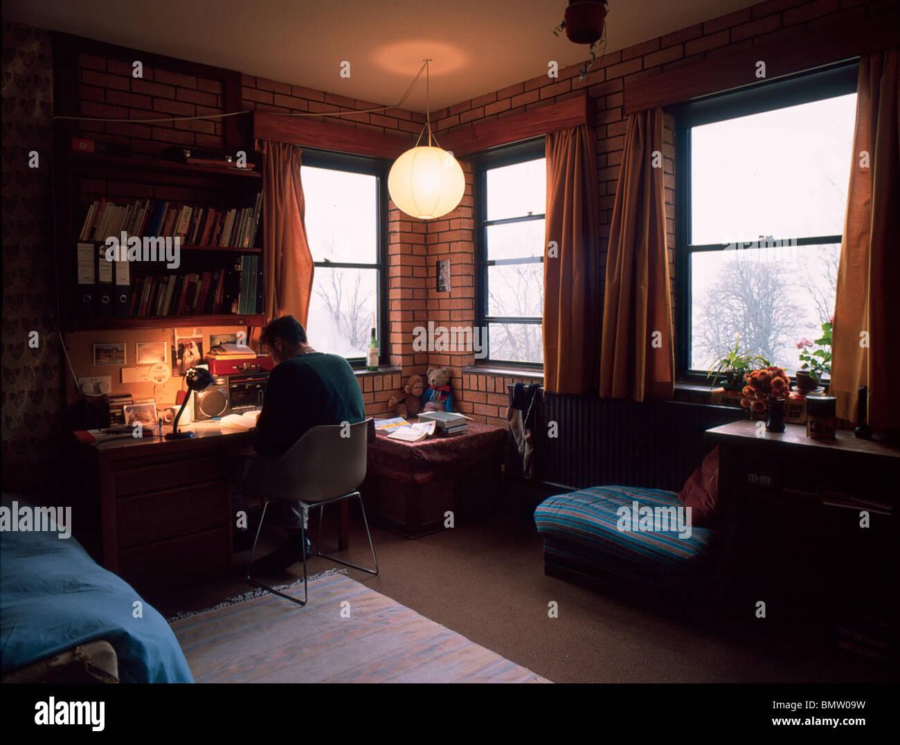 Ampleforth College boy camera da letto studio, ottanta Foto ...