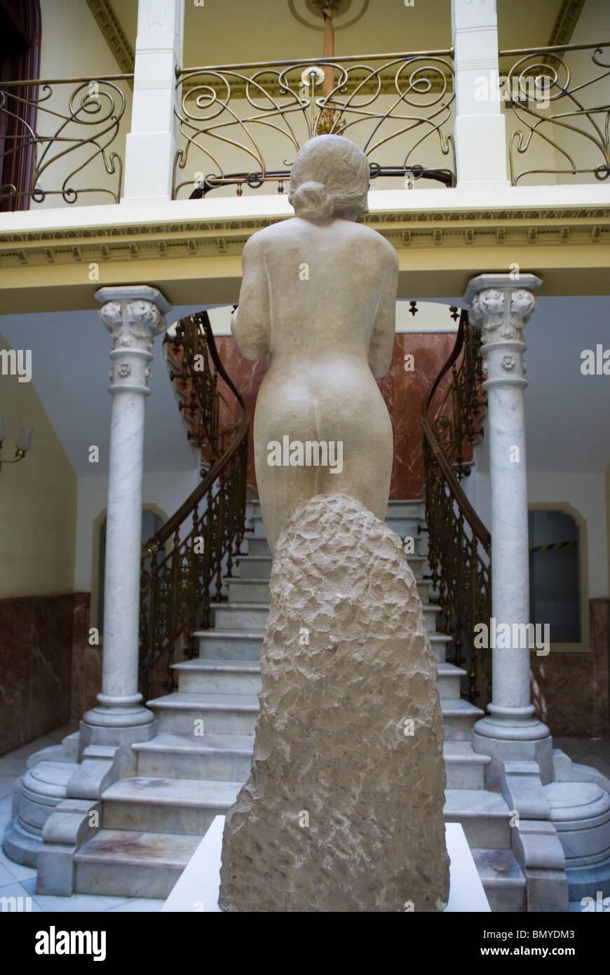 Aguirre palazzo città di Cartagena Murcia Regione Spagna Palacio Aguirre, sede del Museo Regional de Arte Moderno Immagini Stock