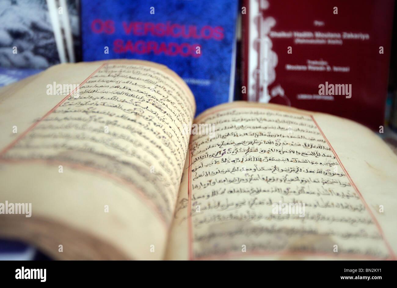 Libro di Islam Immagini Stock
