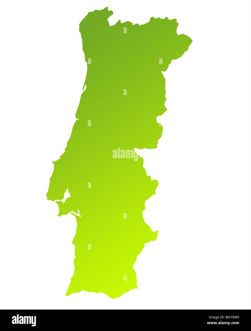 Cartina Di Portogallo.Mappa Del Portogallo Immagini E Fotos Stock Alamy