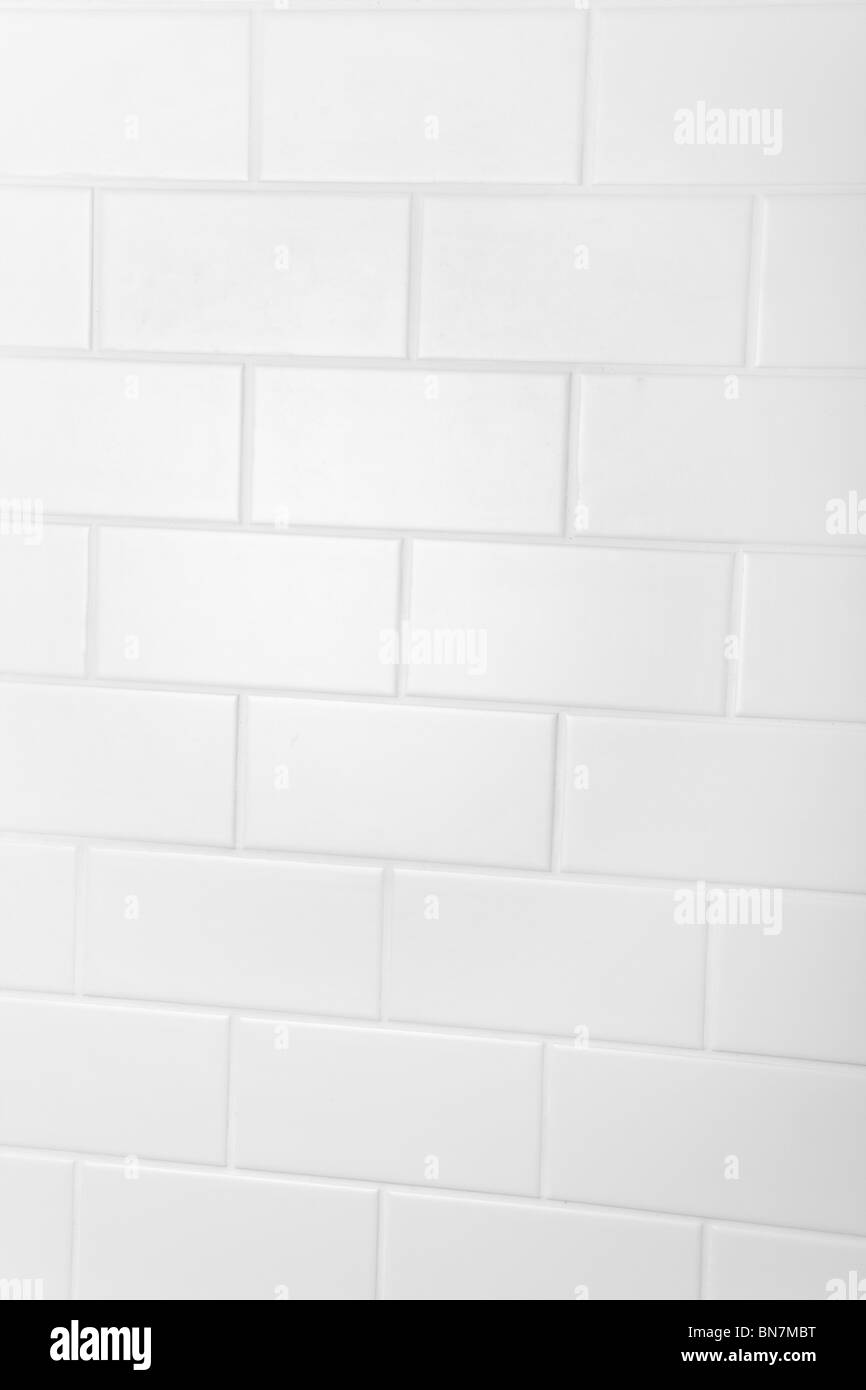 Bagno Piastrelle a parete per lo sfondo Immagini Stock
