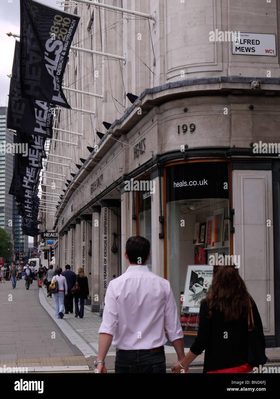 Guarisce mobili e arredi shop store Immagini Stock