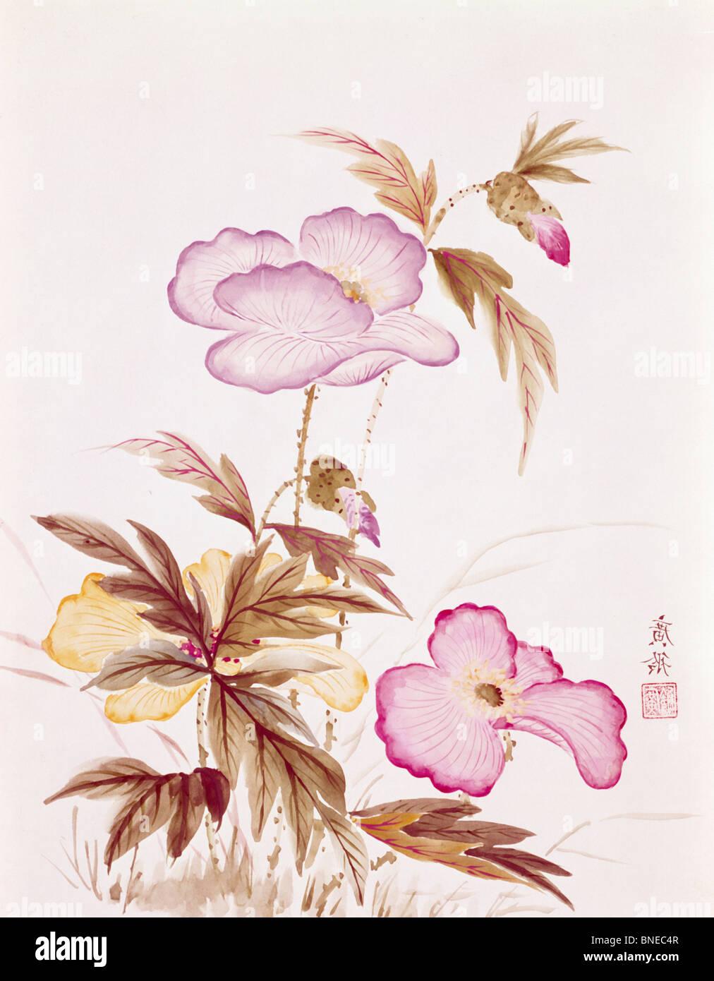 Amore rifiutato di amore da Kwang-Ling Ku, xx secolo Immagini Stock