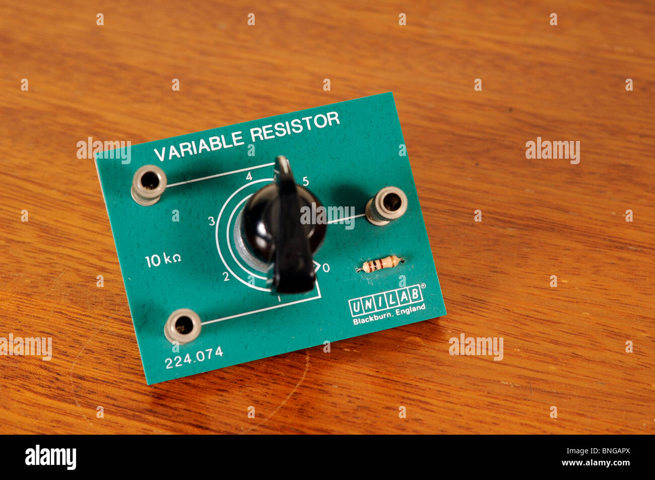 Resistore variabile Immagini Stock