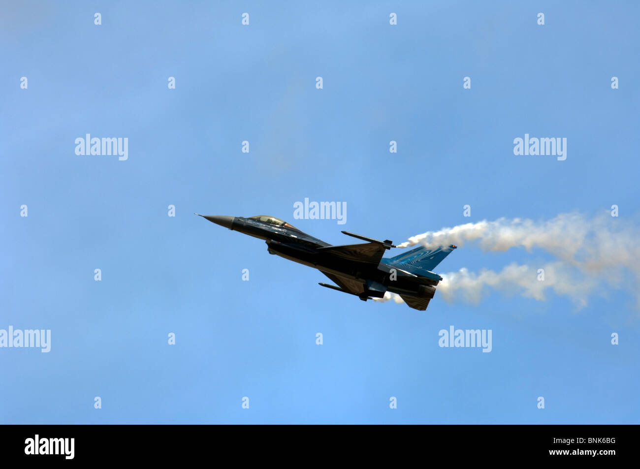 Belga di Air Force General Dynamics F-16A MLU Fighting Falcon Immagini Stock