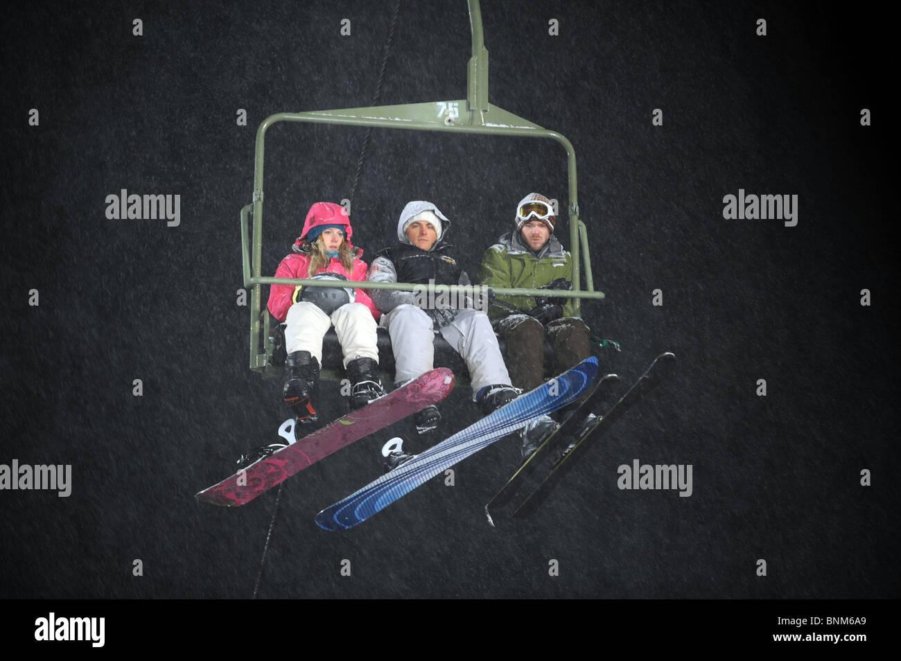 Congelati (2010) Shawn Ashmore, Emma bell, Kevin zengers adam verde (dir) 001 collezione moviestore ltd Immagini Stock