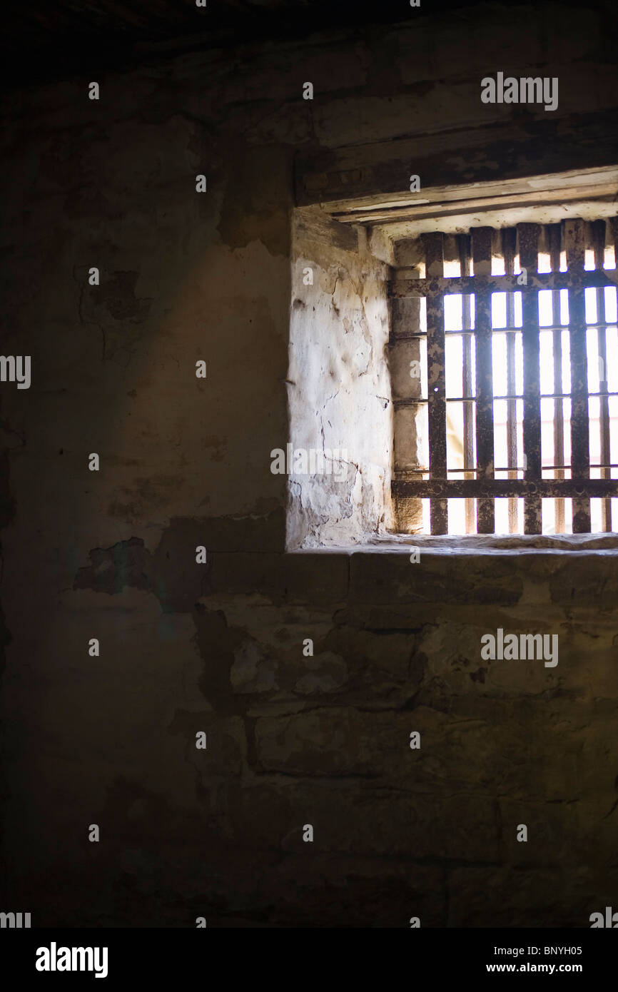 Cella di prigione a Richmond carcere. Richmond, Tasmania, Australia Immagini Stock