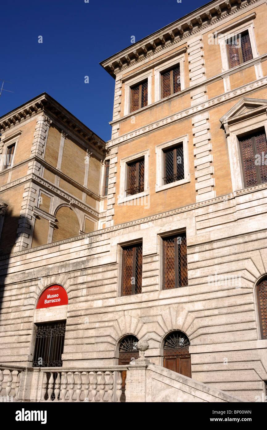 Italia, Roma, Museo Barracco, piccola farnesina Immagini Stock
