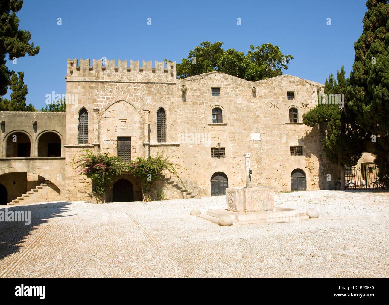 Museo delle Arti Decorative, Rodi città vecchia, Grecia Immagini Stock