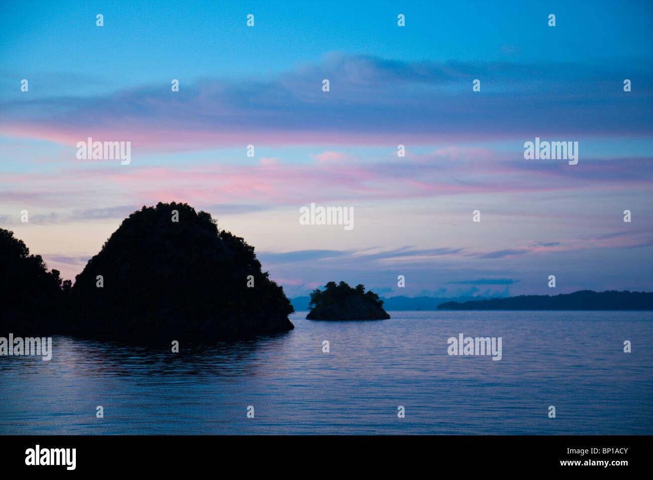 Impressioni di Misool Raja Ampat, Indonesia Immagini Stock