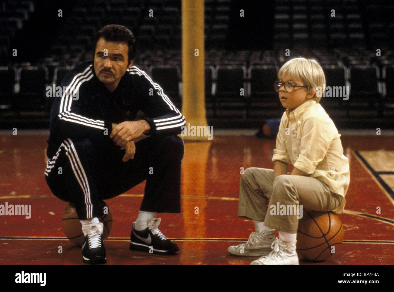BURT REYNOLDS, Peter Billingsley, paternità, 1981 Immagini Stock
