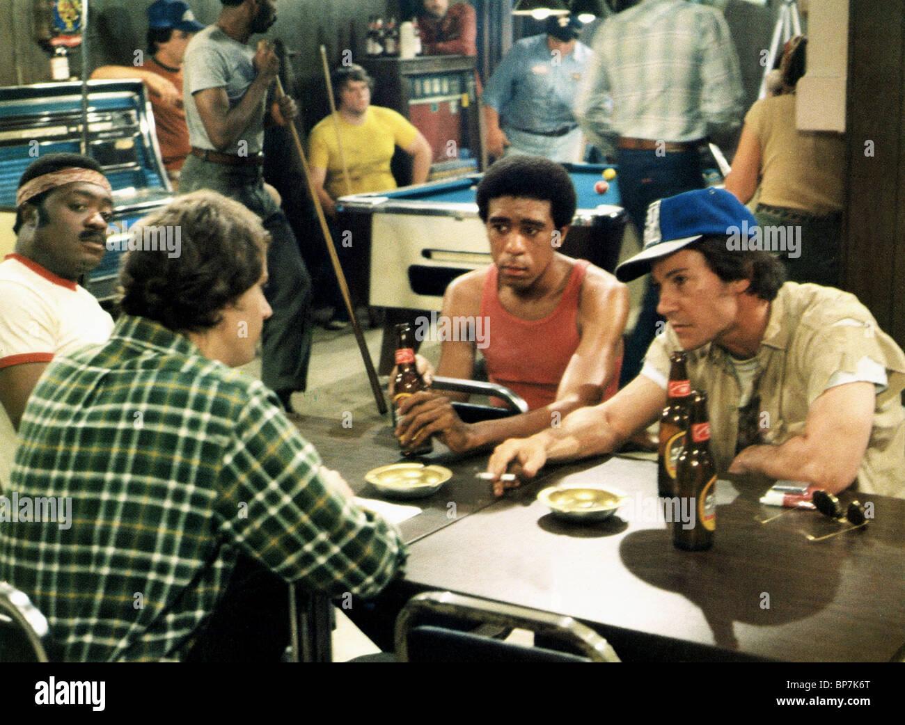 RICHARD PRYOR, Harvey Keitel, collare blu, 1980 Immagini Stock