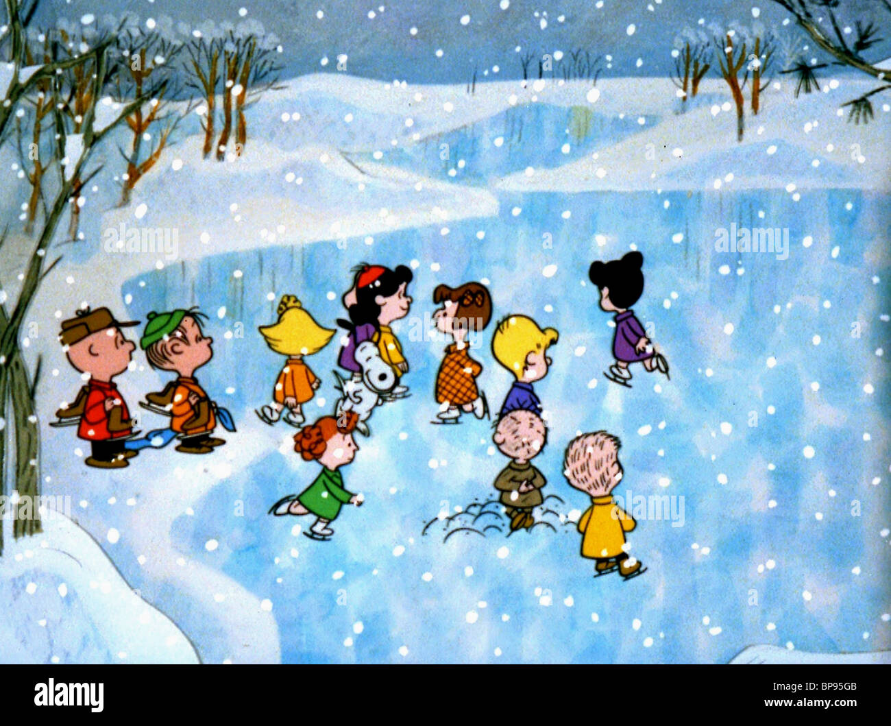 Immagini Natale Linus.Charlie Brown Linus Snoopy Lucia Un Charlie Brown Natale 1965