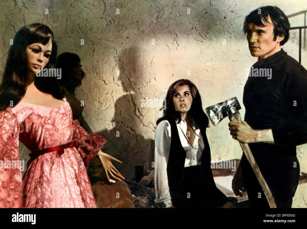 STEFANIE POTERI, JAMES OLSON, crescendo, 1970 Immagini Stock