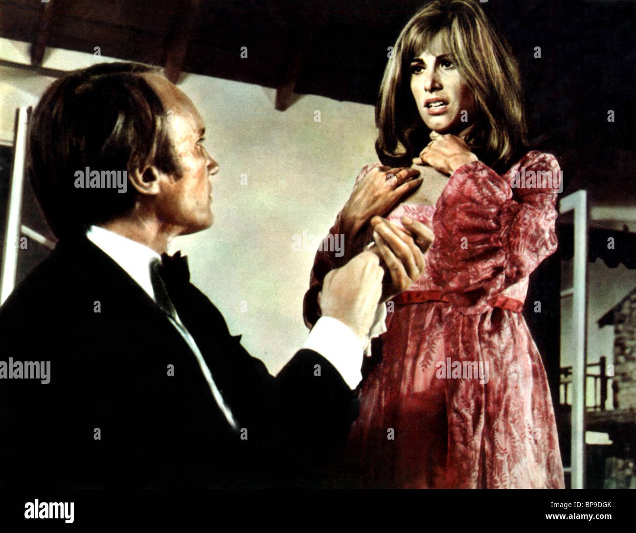 JAMES OLSON, STEFANIE POTERI, crescendo, 1970 Immagini Stock