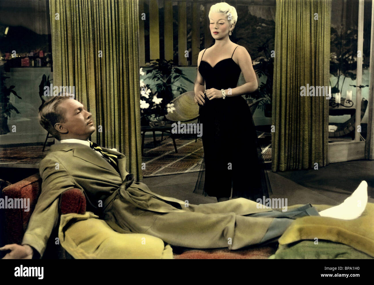 JOHN LUND, Lana Turner, Latin Lovers, 1953 Immagini Stock