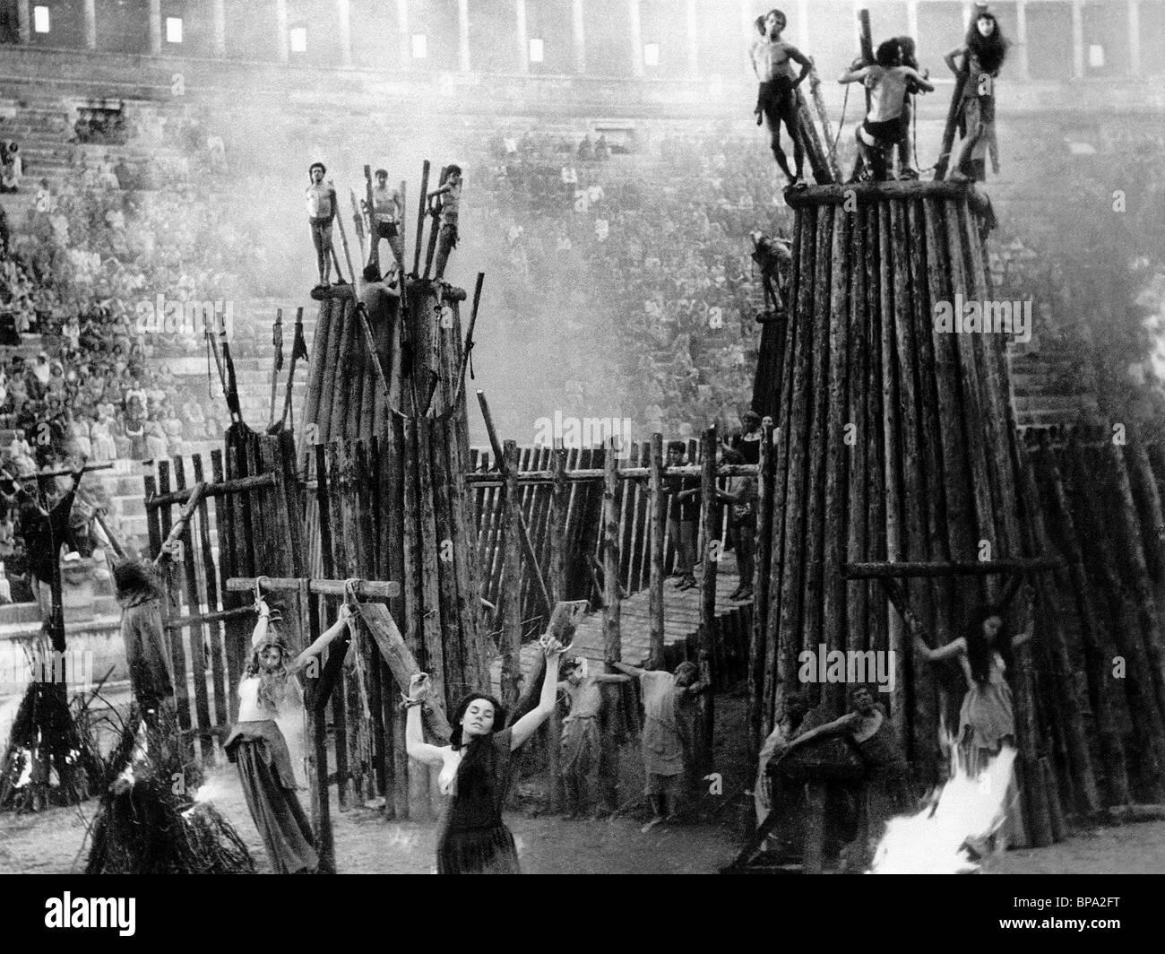 Esecuzione cristiana scena FABIOLA (1949) Immagini Stock