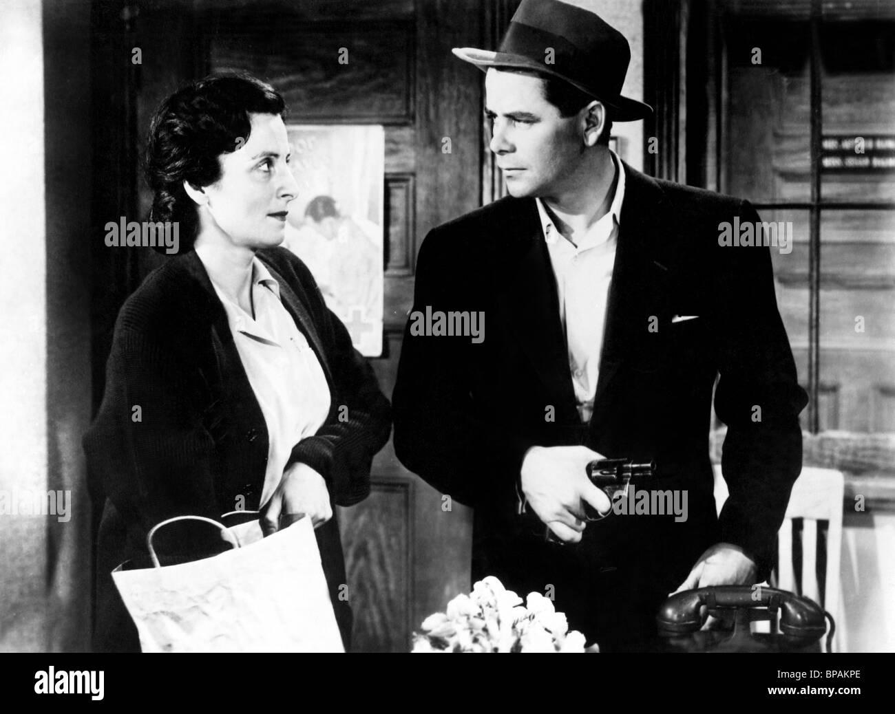 BEULAH BONDI, Glenn Ford, Casa di insediamento, 1949 Immagini Stock