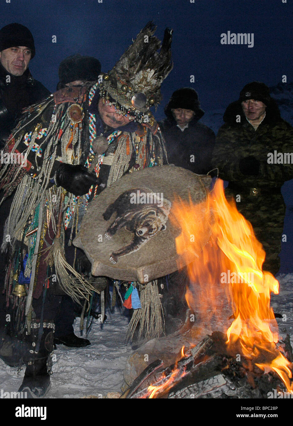 La Russia celebra il nuovo anno lunare Immagini Stock