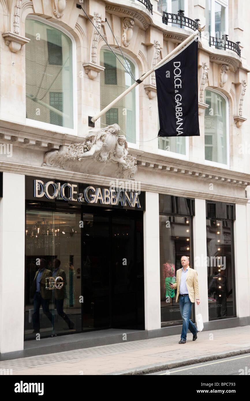 03f5c1154f Dolce & Gabbana store, 24 Old Bond Street a Londra, Inghilterra Foto ...